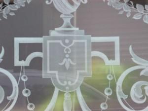 verre décoration